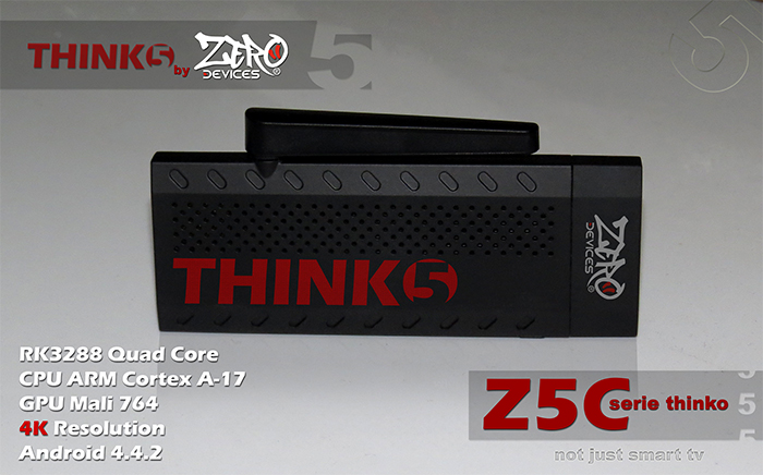 ZERO Devices Z5C Thinko - RK3288 - UHD 4K - Cortex A17 - Mali T764
